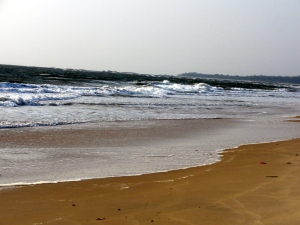 Kundapur beach in the evening