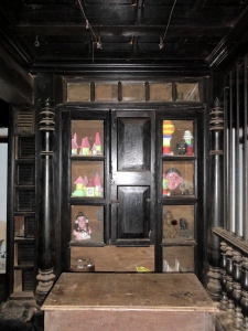 A vintage cupboard of the house