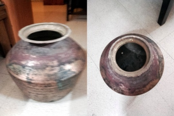 Pot before
