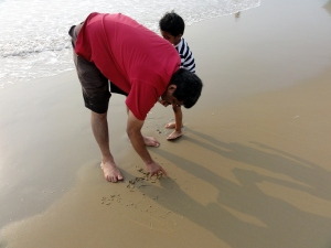 Rabindranath Tagore beach2